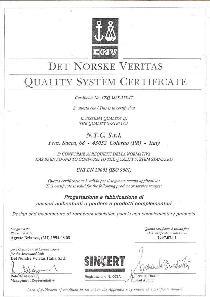 Certificato di qualità primojpg